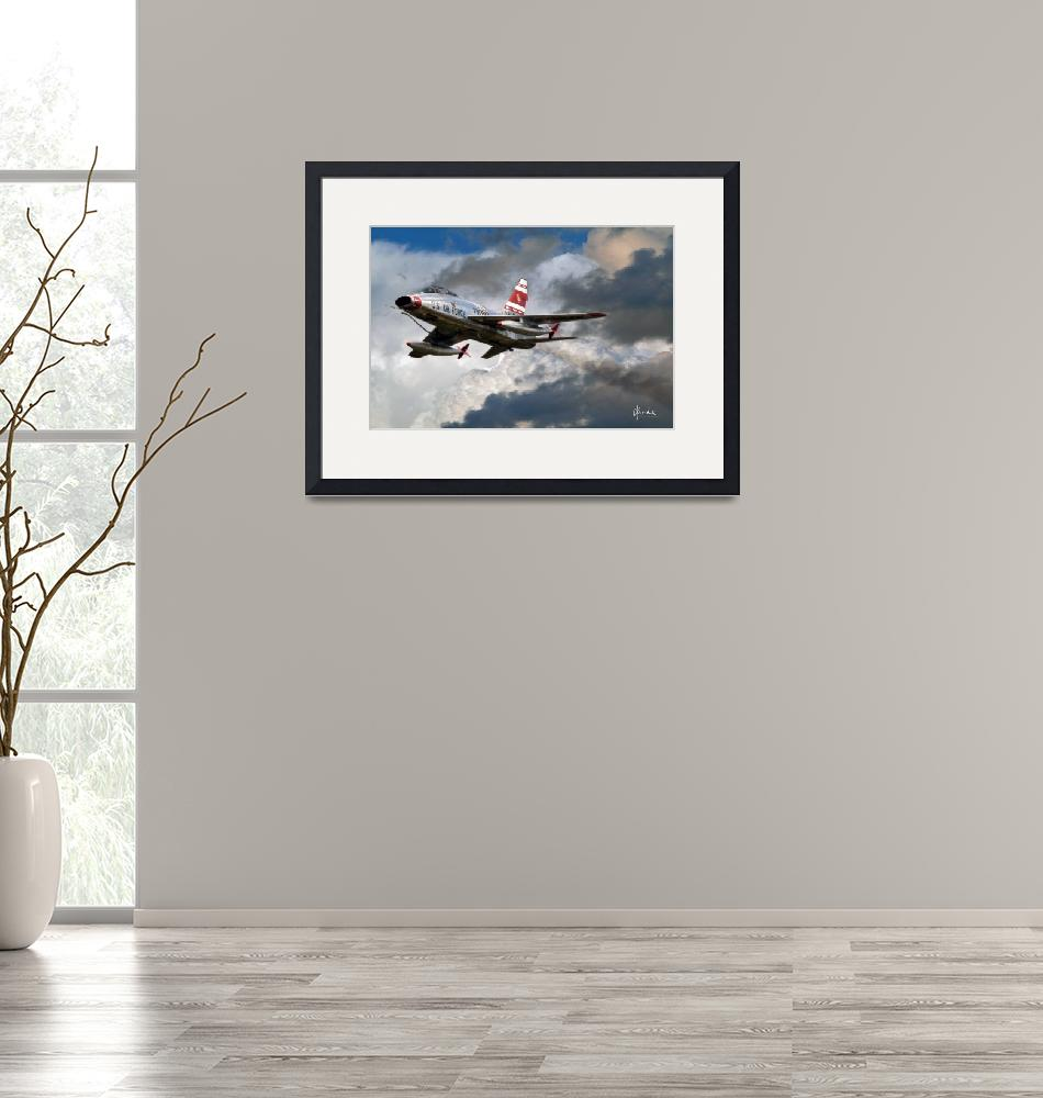"""""""F-100F in the Clouds""""  (2011) by Need4Speed"""