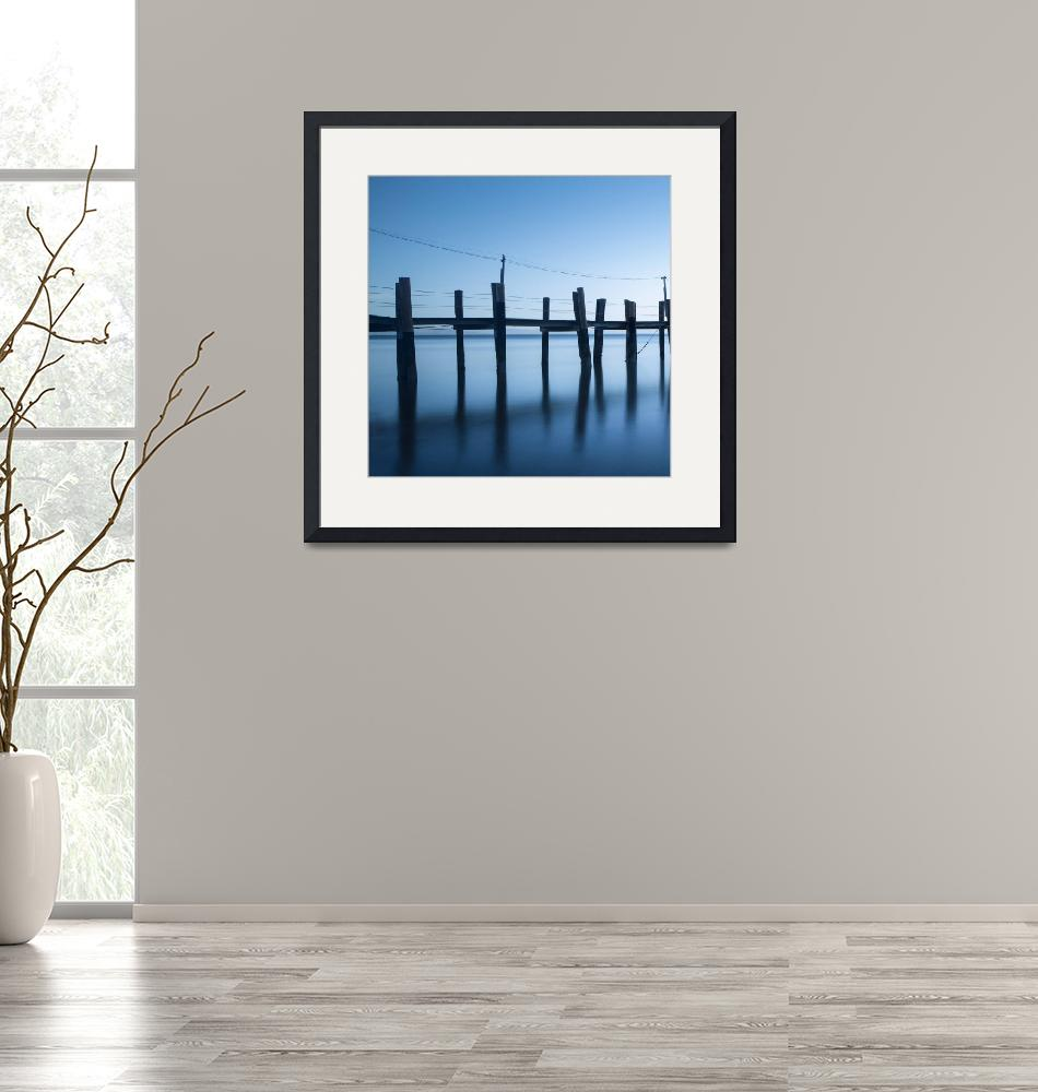 """""""China Camp Panoramic one of two""""  by artlicensing"""
