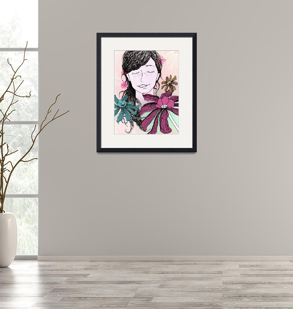 """""""Choose flowers"""" by marianeillustration"""