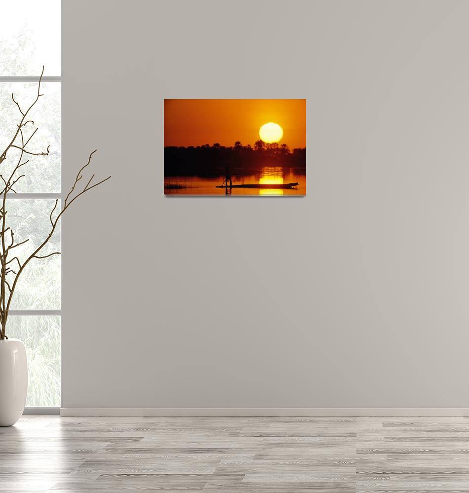 """""""African Sunset""""  (2007) by delende"""