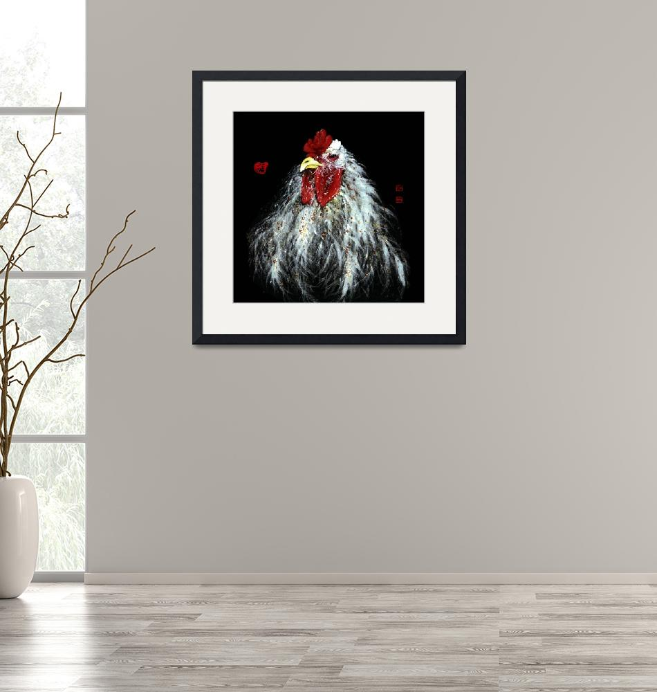 """""""Rooster - 1""""  by RiverHan"""