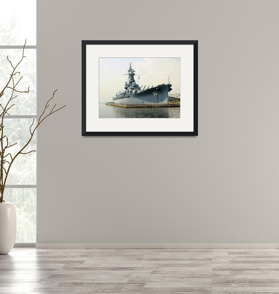 """""""USS Alabama Starboard""""  (2008) by doncon402"""