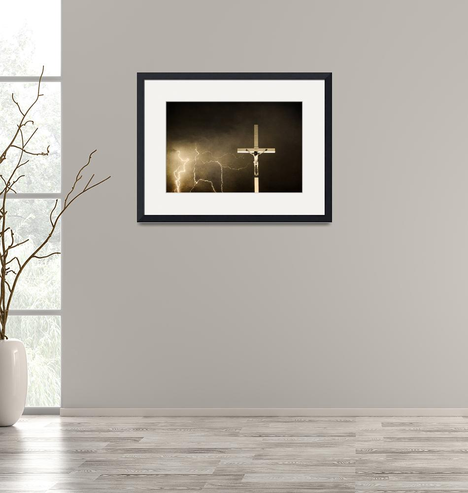 """""""Lord have Mercy - Crucifixion of Jesus""""  (2010) by lightningman"""