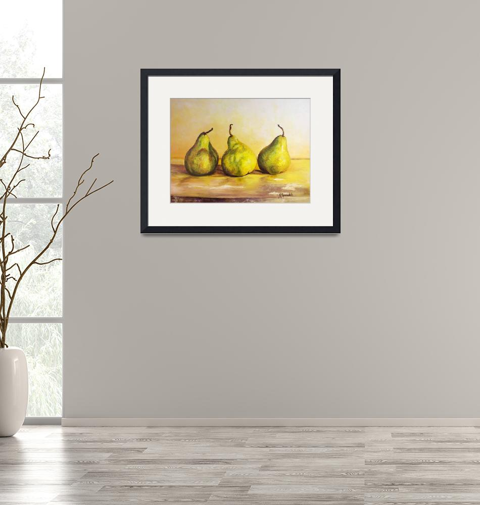 """""""Three Pears""""  (2013) by Kevinmeredith"""
