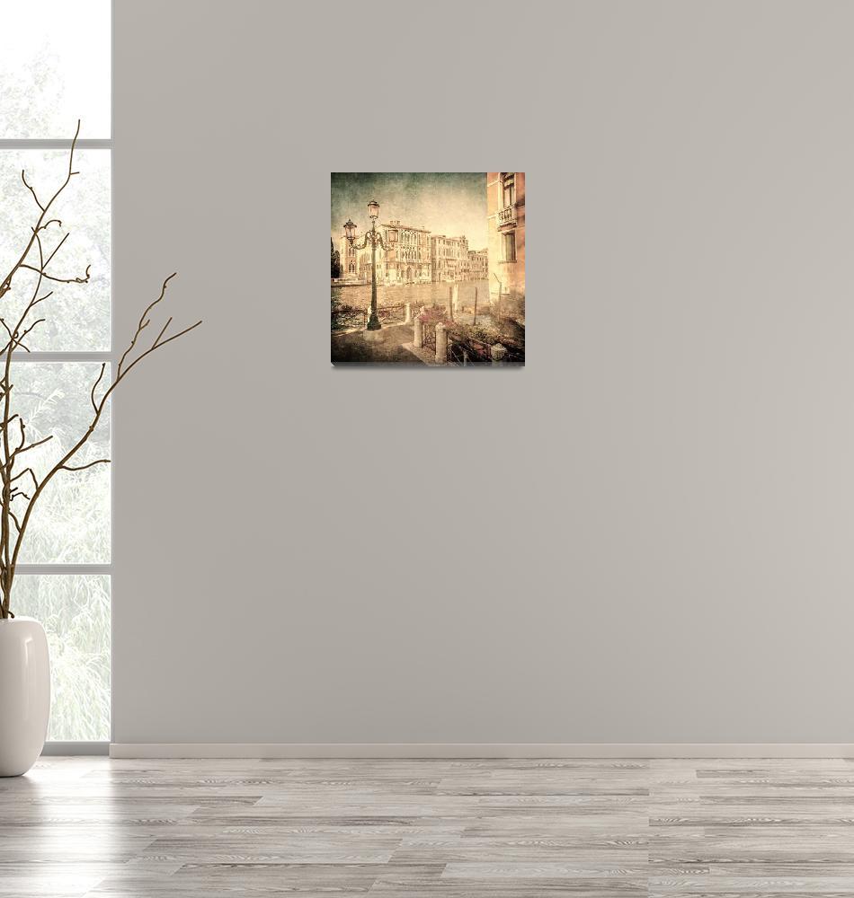 """""""Vintage image of Venice, Italy""""  by kalishko"""