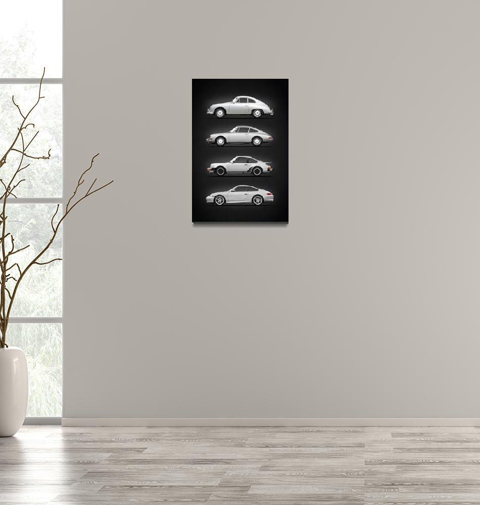 """""""Evolution Of The 911""""  by mark-rogan"""