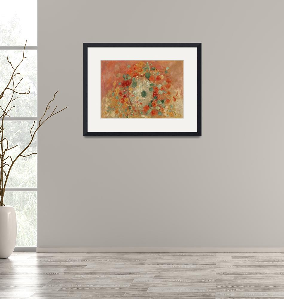"""Nasturtiums by Odilon Redon""  by FineArtClassics"