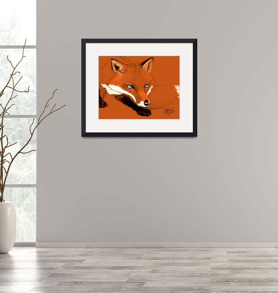"""""""Red Fox"""" (2013) by abecrod"""