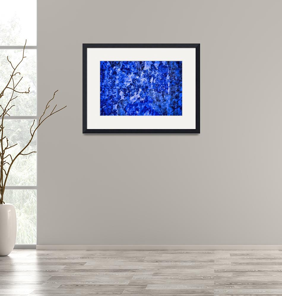 """""""Abstract in Blues #1 on 1 February 2018""""  (2018) by nawfalnur"""