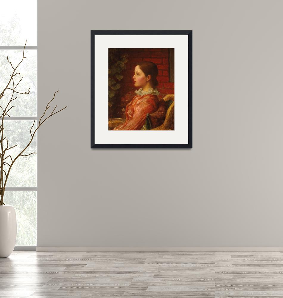 """""""George Frederic Watts~Alice"""" by Old_master"""