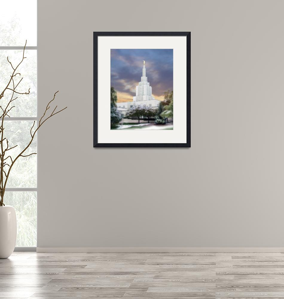 """Idaho Falls Temple""  by TerrySpringer"