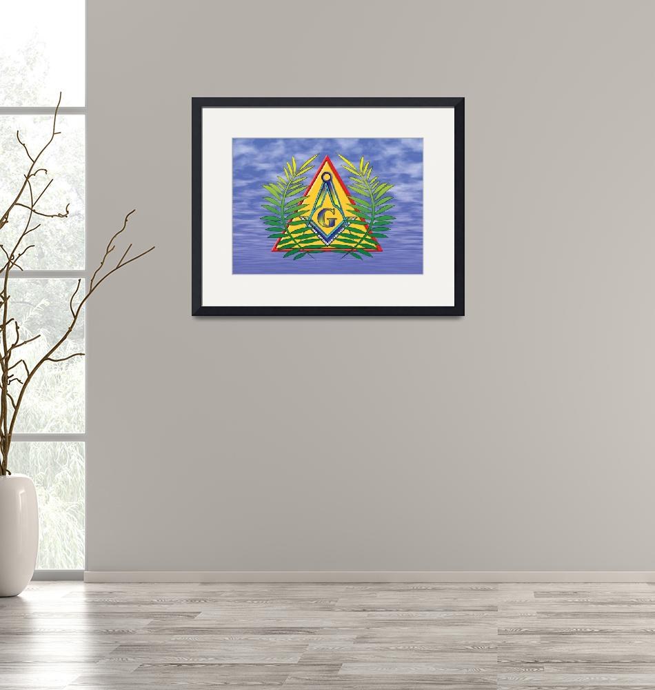"""Masonic Acacia and Pyramid"" (2005) by garyoa1"