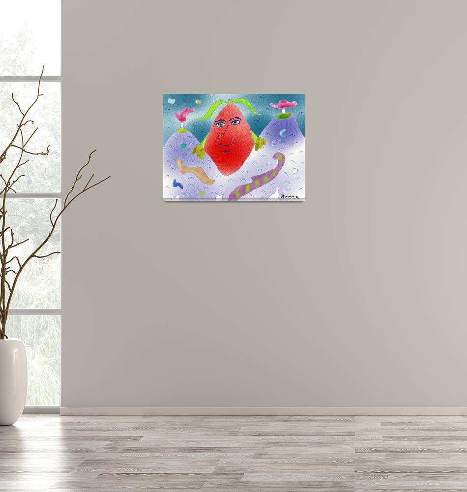"""""""""""Mountain Egg""""-Children Colorful Fantasy Stories""""  by Arran"""