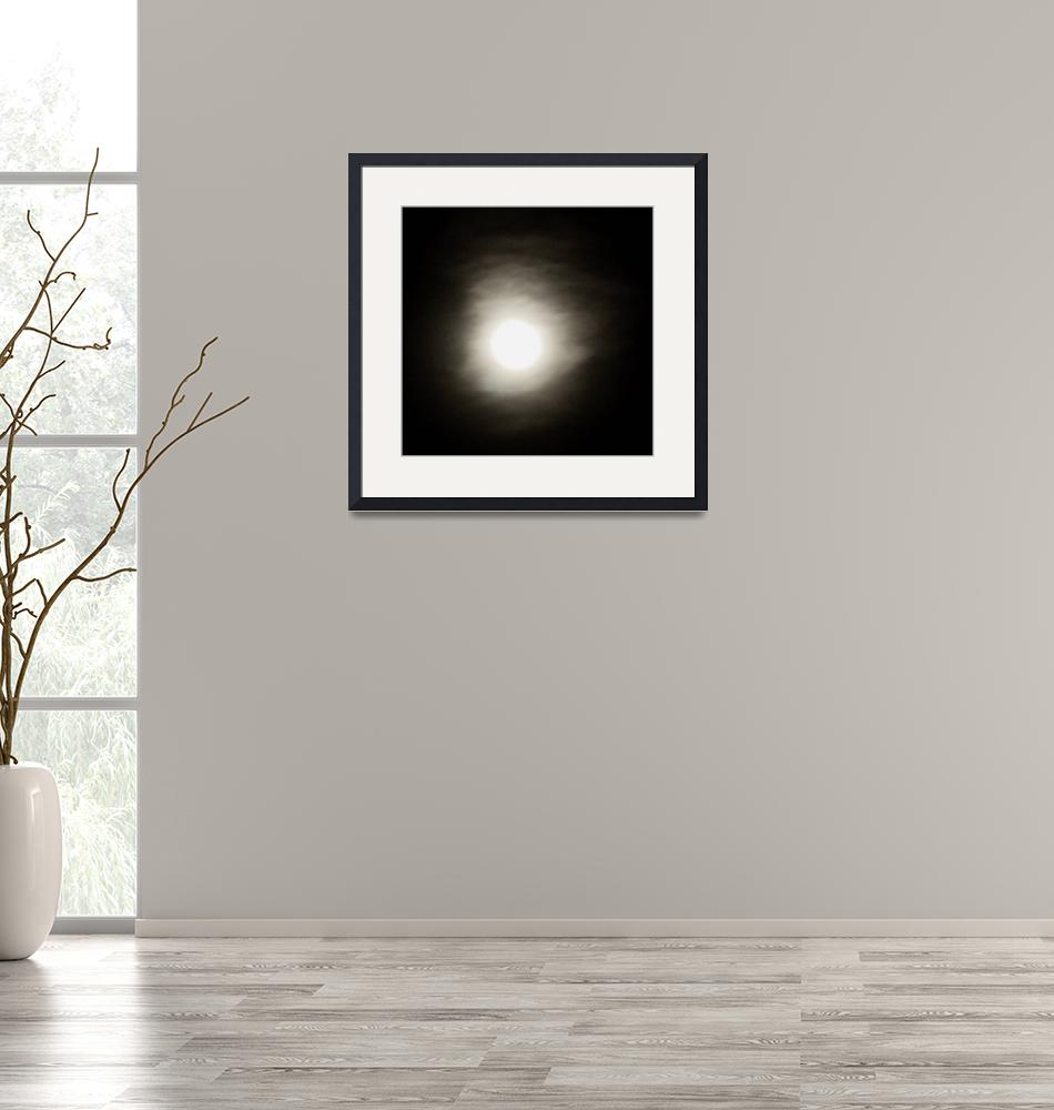 """Hazy Moon""  (2009) by rayjacque"