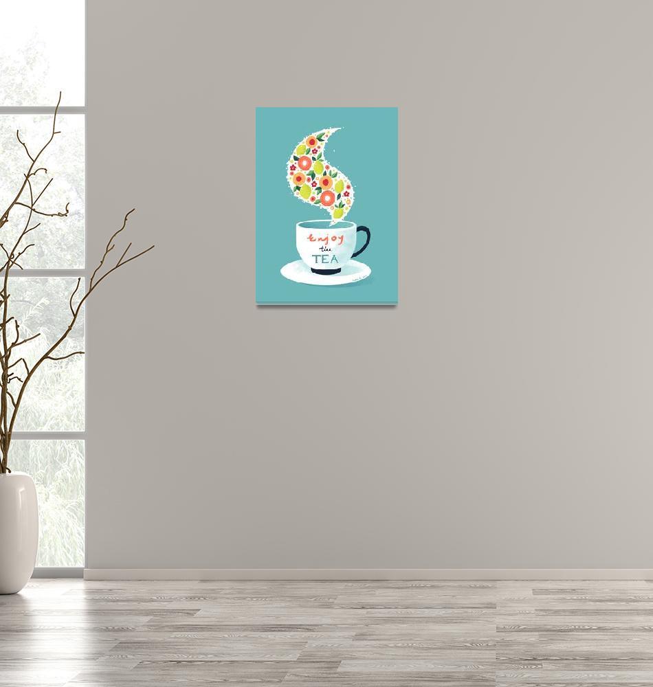 """Enjoy the Tea""  (2015) by freeminds"