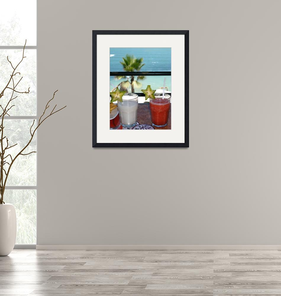 """""""Smoothies With A View""""  (2008) by MattParry"""
