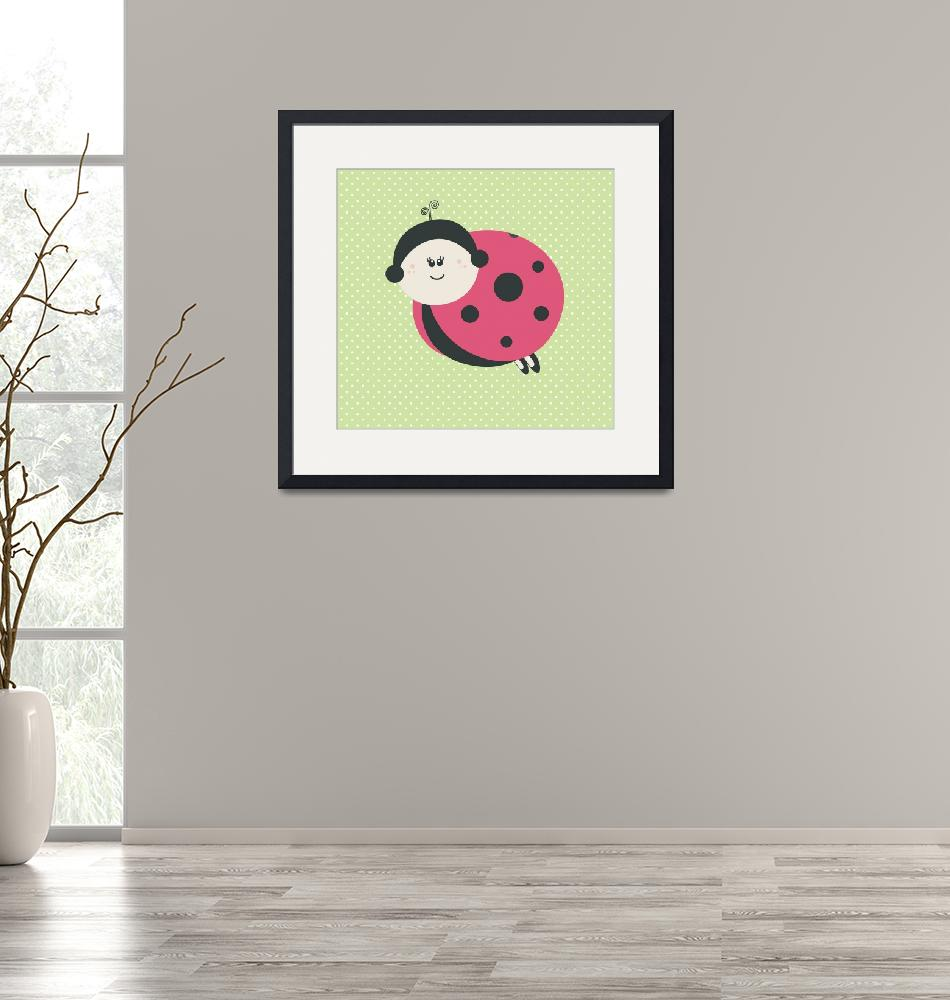 """""""Ladybug (green)""""  by littlebubbies"""