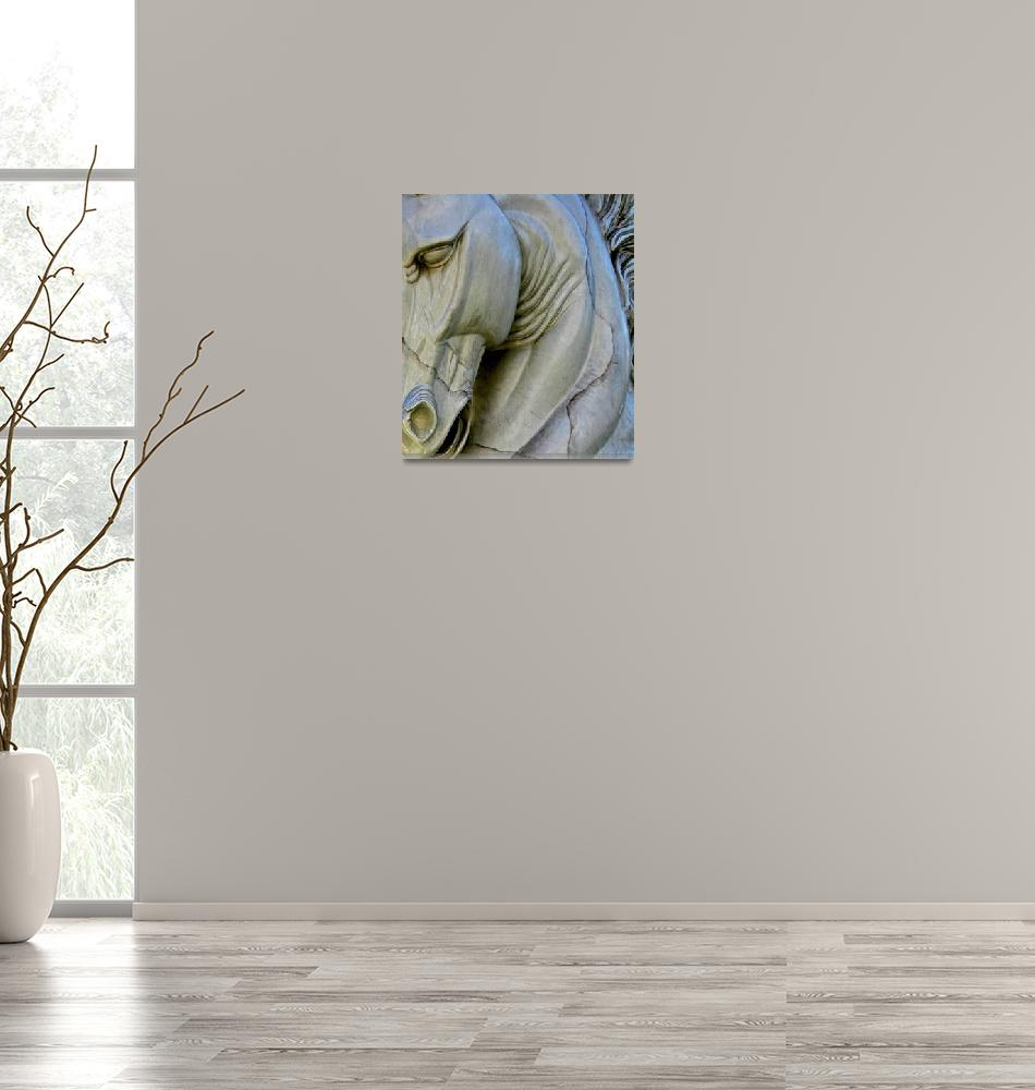 """""""Horse of Stone""""  (2007) by KerriAnnCrau"""