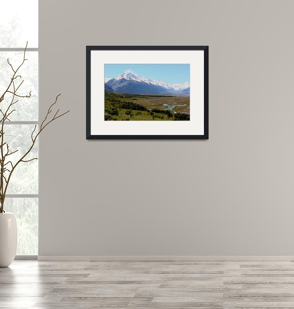 """""""Southern Alps #3""""  (2008) by javaman"""