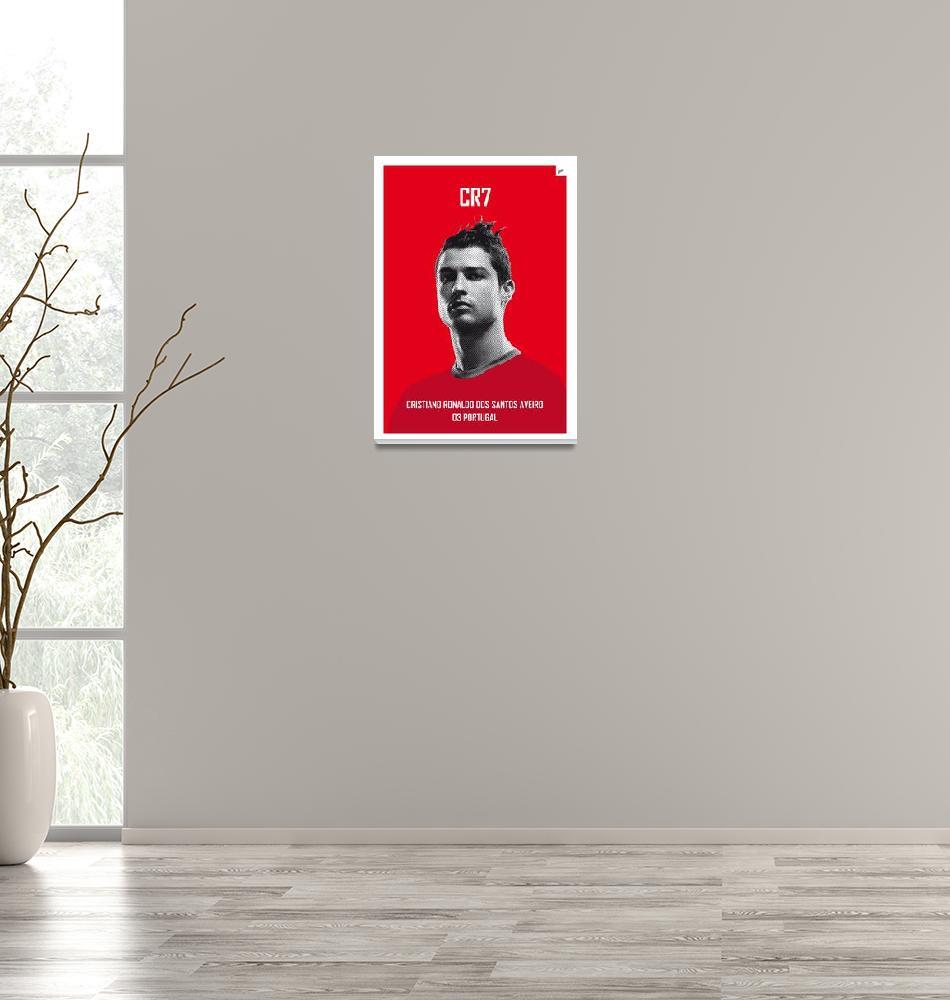 """My Ronaldo soccer legend poster""  by Chungkong"