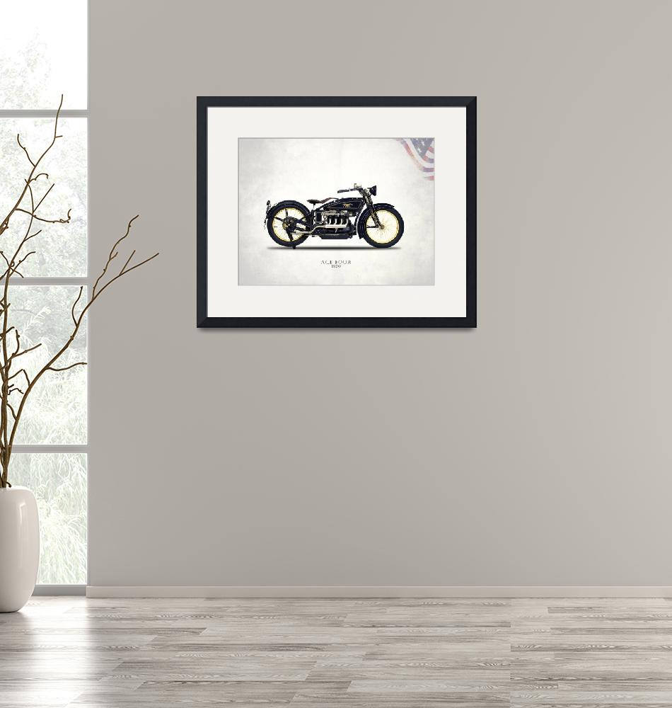 """""""The 1920 Ace Four Motorcycle"""" by mark-rogan"""