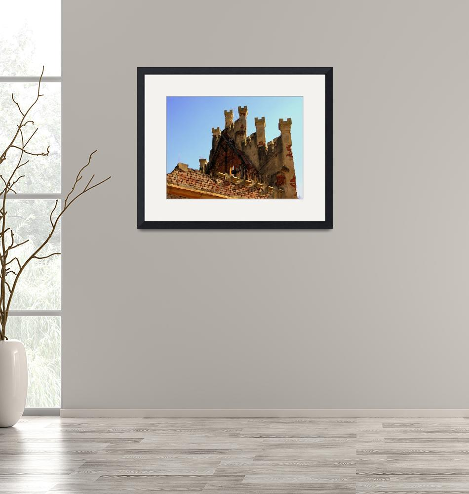 """""""Top of the Main Hall of Castle Hauenstejn""""  by Artsart"""