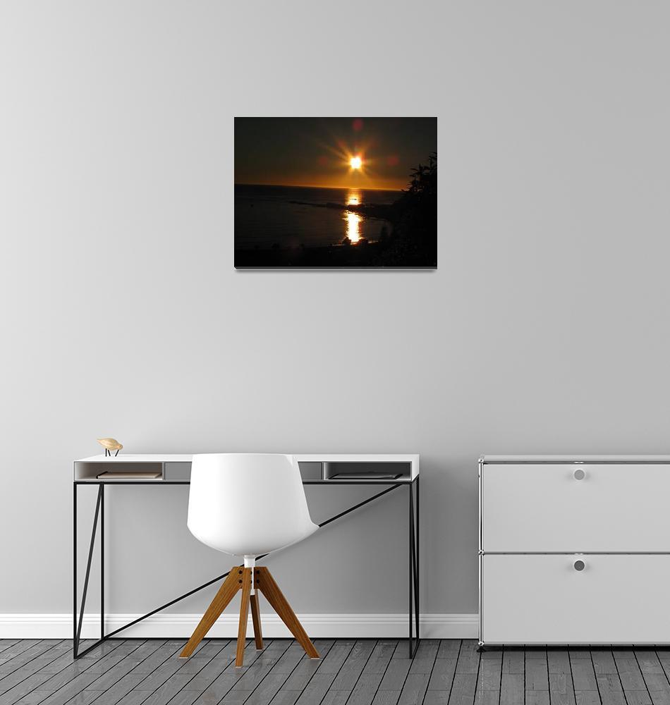 """Kaikoura Sunset New Zealand""  (2010) by M2Mphotography"