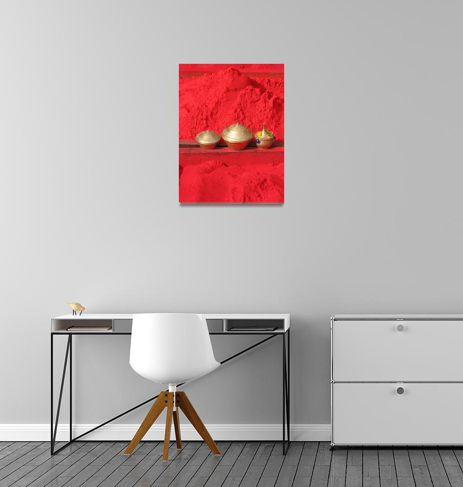 """Red""  (2011) by ArtByJanVinclair"