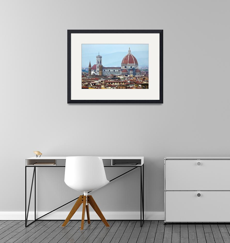 """""""Duomo Florence  by Terence Davis""""  by terencedavis"""