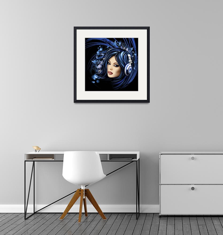 """Jules Art Collection Framed Print""  by buddakats1"