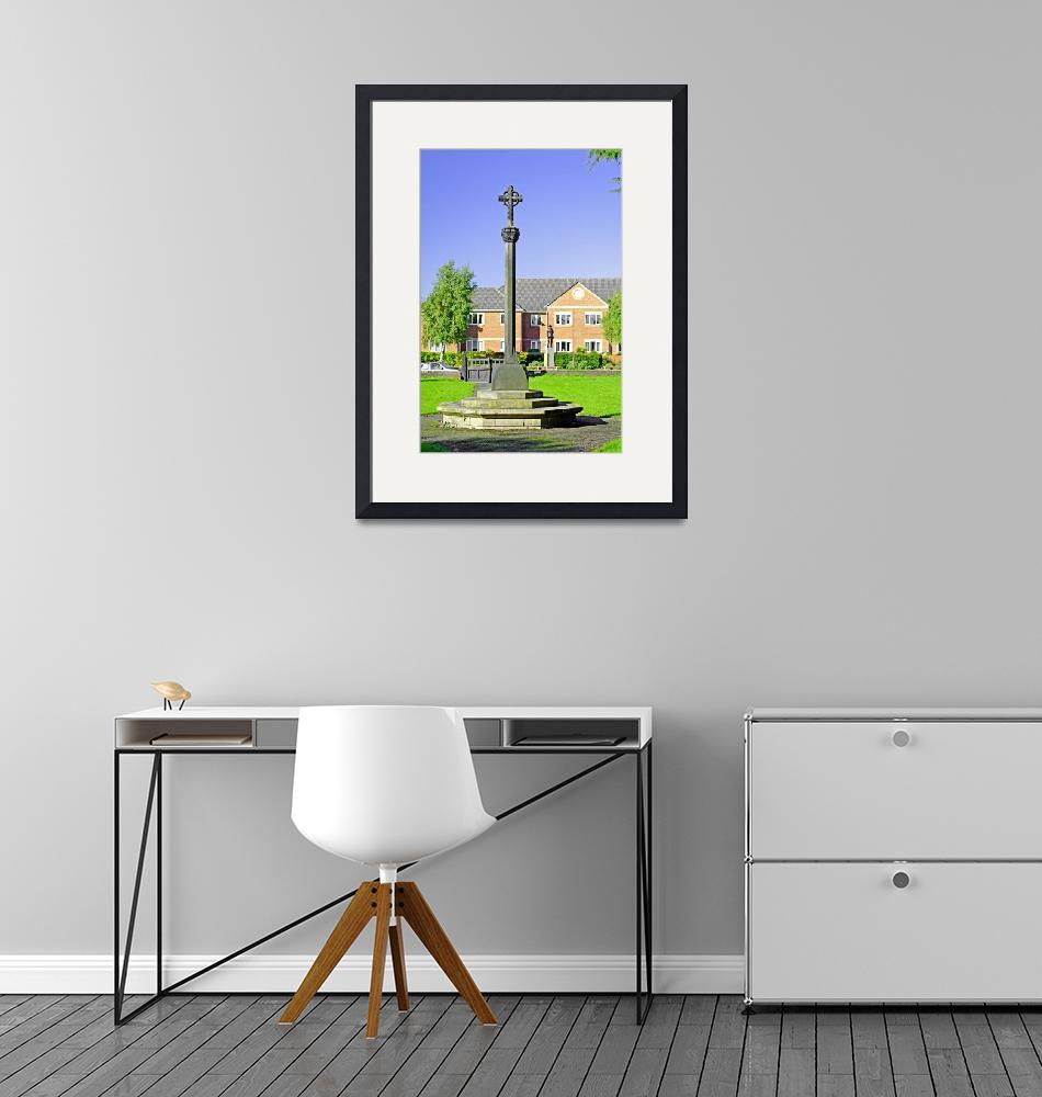 """""""Tall Cross in St Mary"""