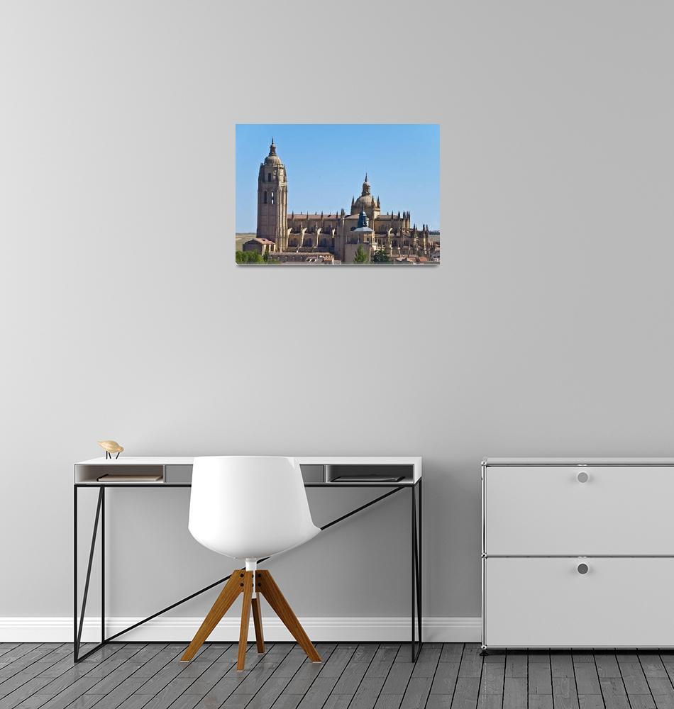 """Catedral de Segovia""  (2009) by Duende"
