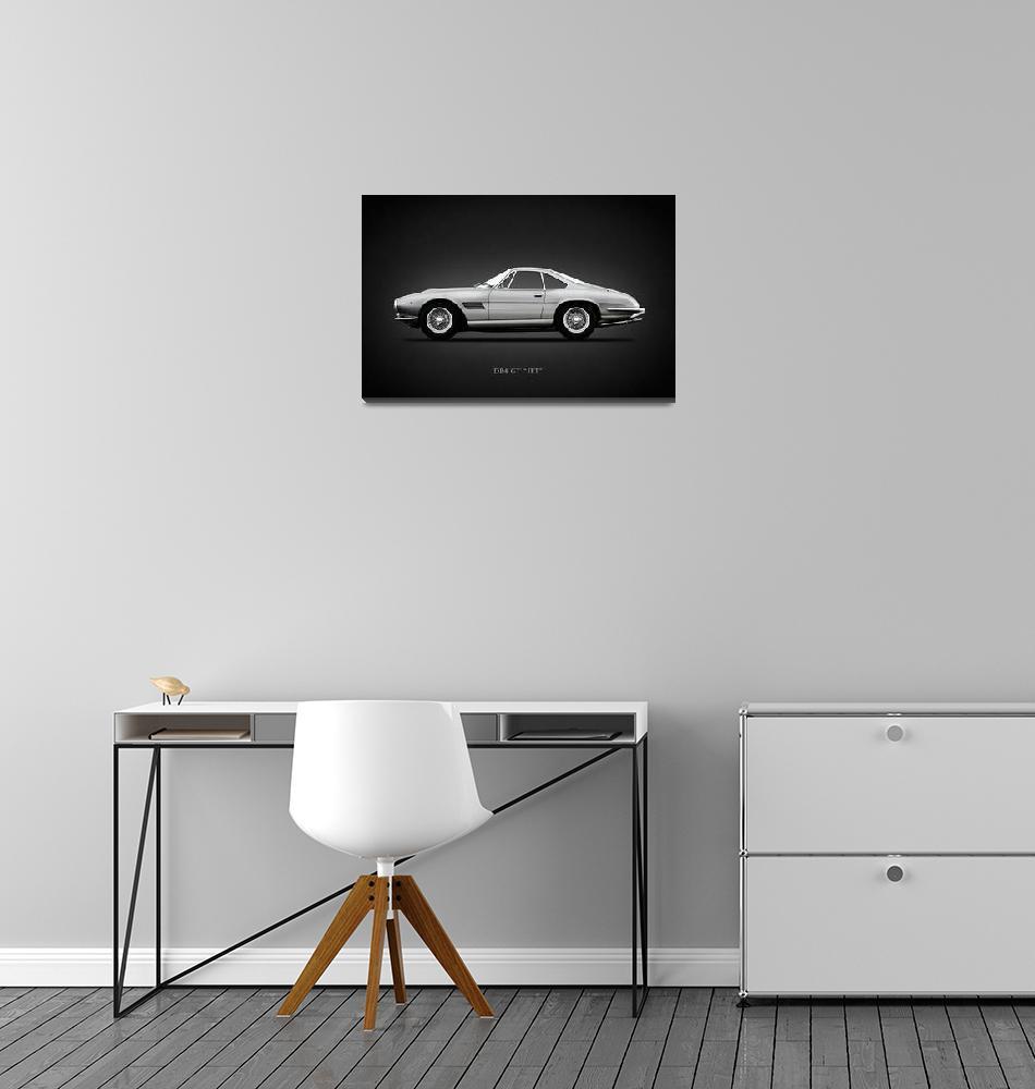 """The Aston DB4 GT Jet""  (2011) by mark-rogan"