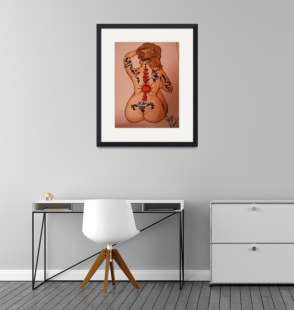 """""A Nude Canvas""""  by victoriasartgallery"