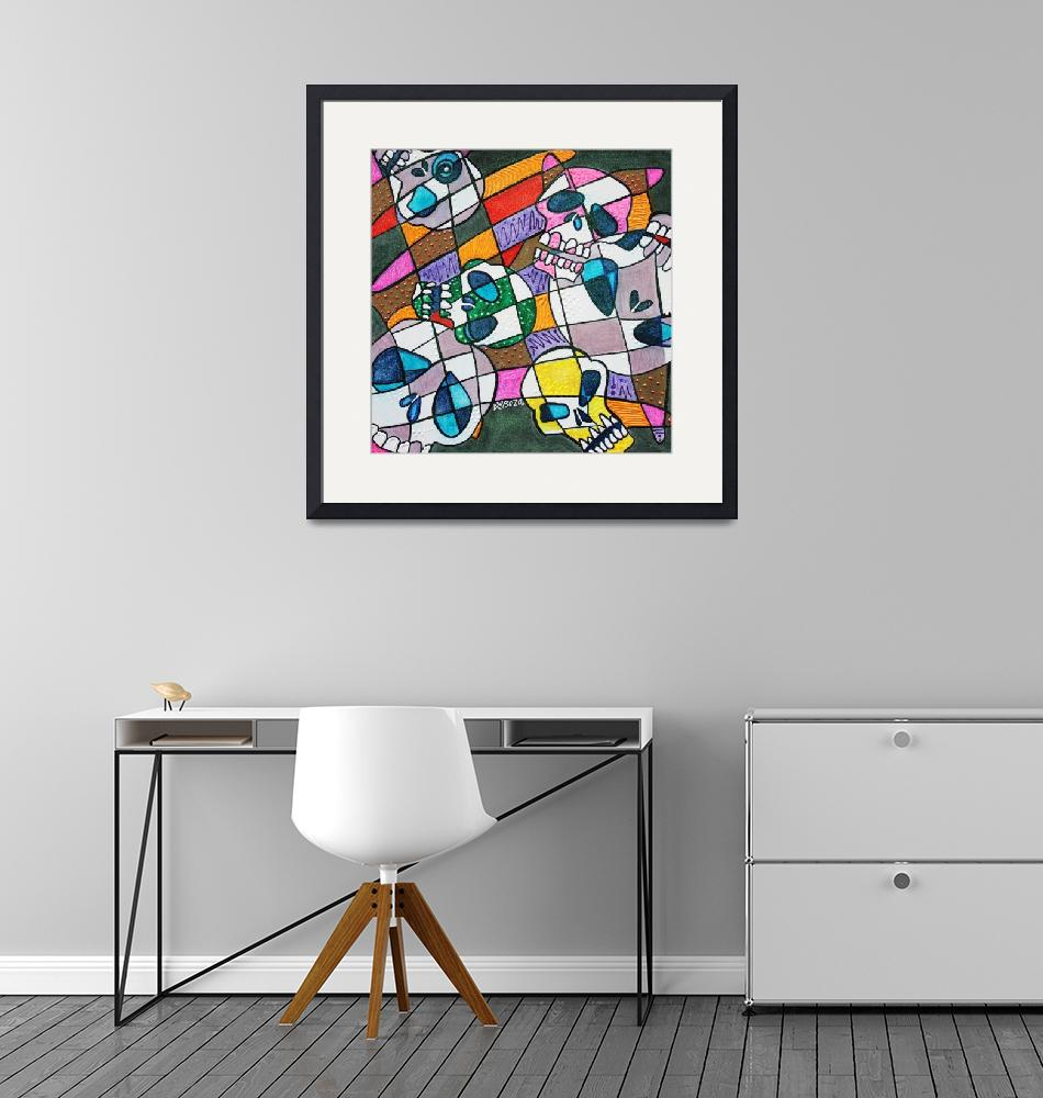 """""""Skullopoly""""  (2016) by ArtPrints"""