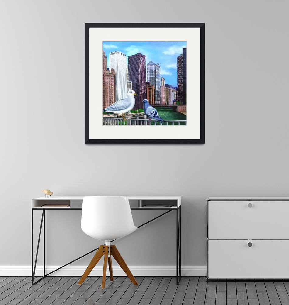 """""""Chicago River""""  by FranceMitchell"""