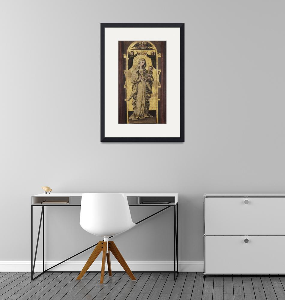"""Unknown artist~Our Lady of the Antigua""  by Old_master"
