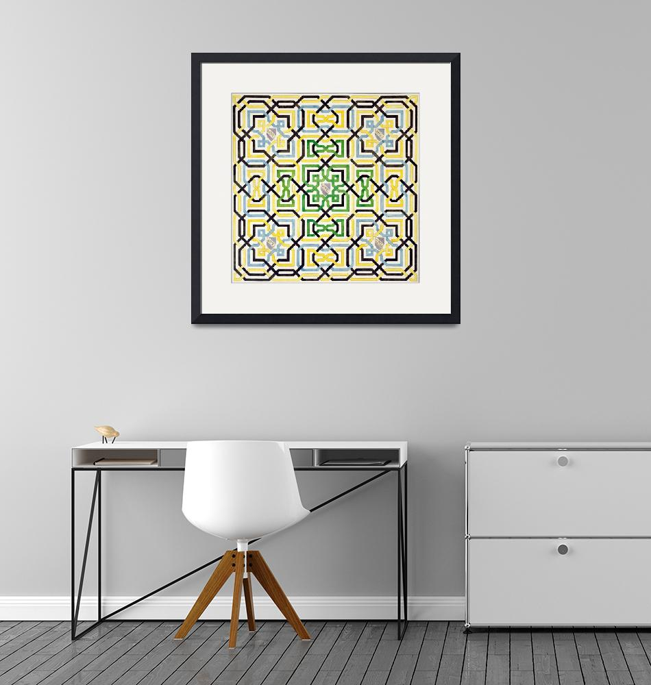 """""""Mosaic design from the Alhambra""""  by fineartmasters"""