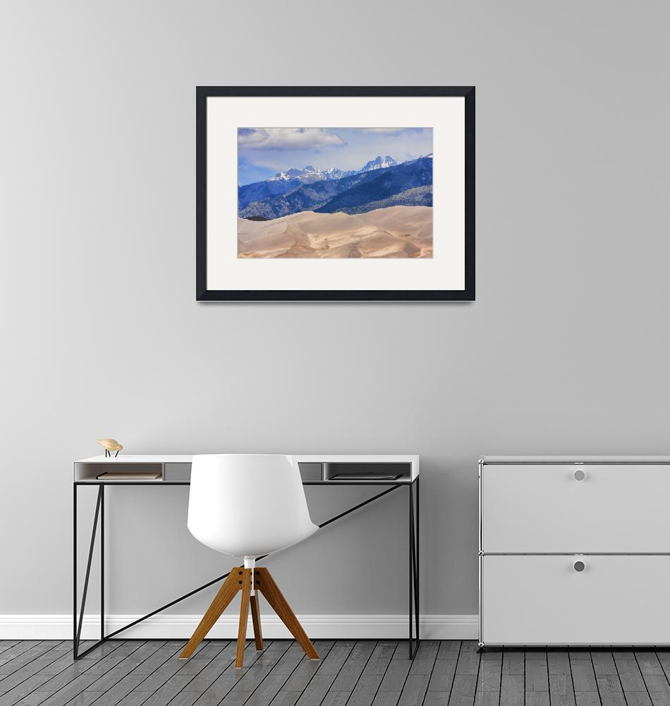 """""""The Great Sand Dunes Color Print 45""""  (2010) by lightningman"""