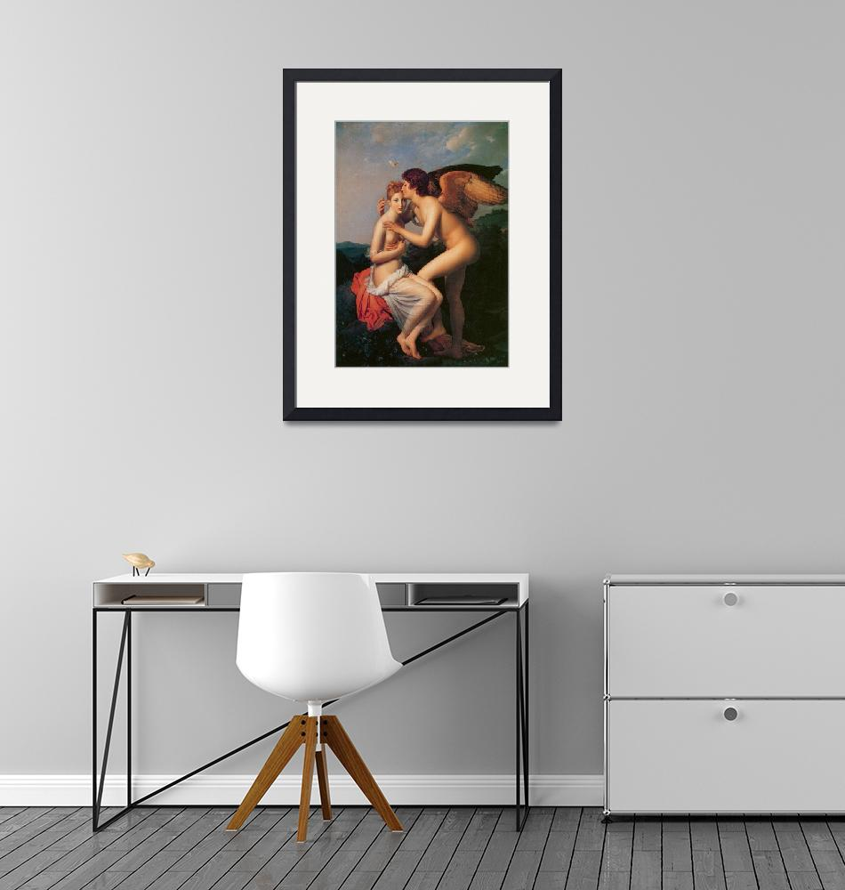 """""""Psyche Receiving the First Kiss of Love""""  by ArtLoversOnline"""