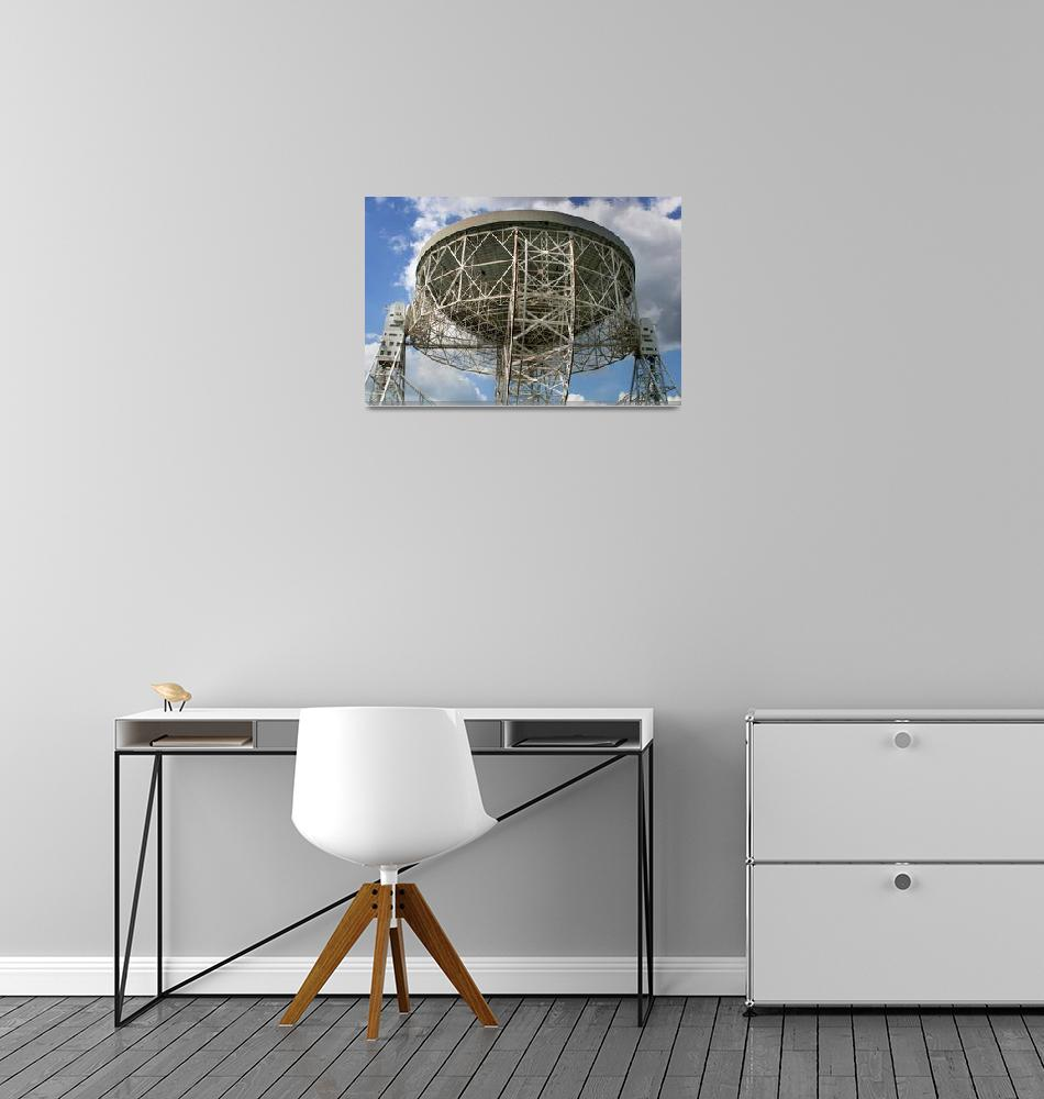 """""""The Lovell Telescope at Jodrell Bank Observatory i""""  by stocktrekimages"""