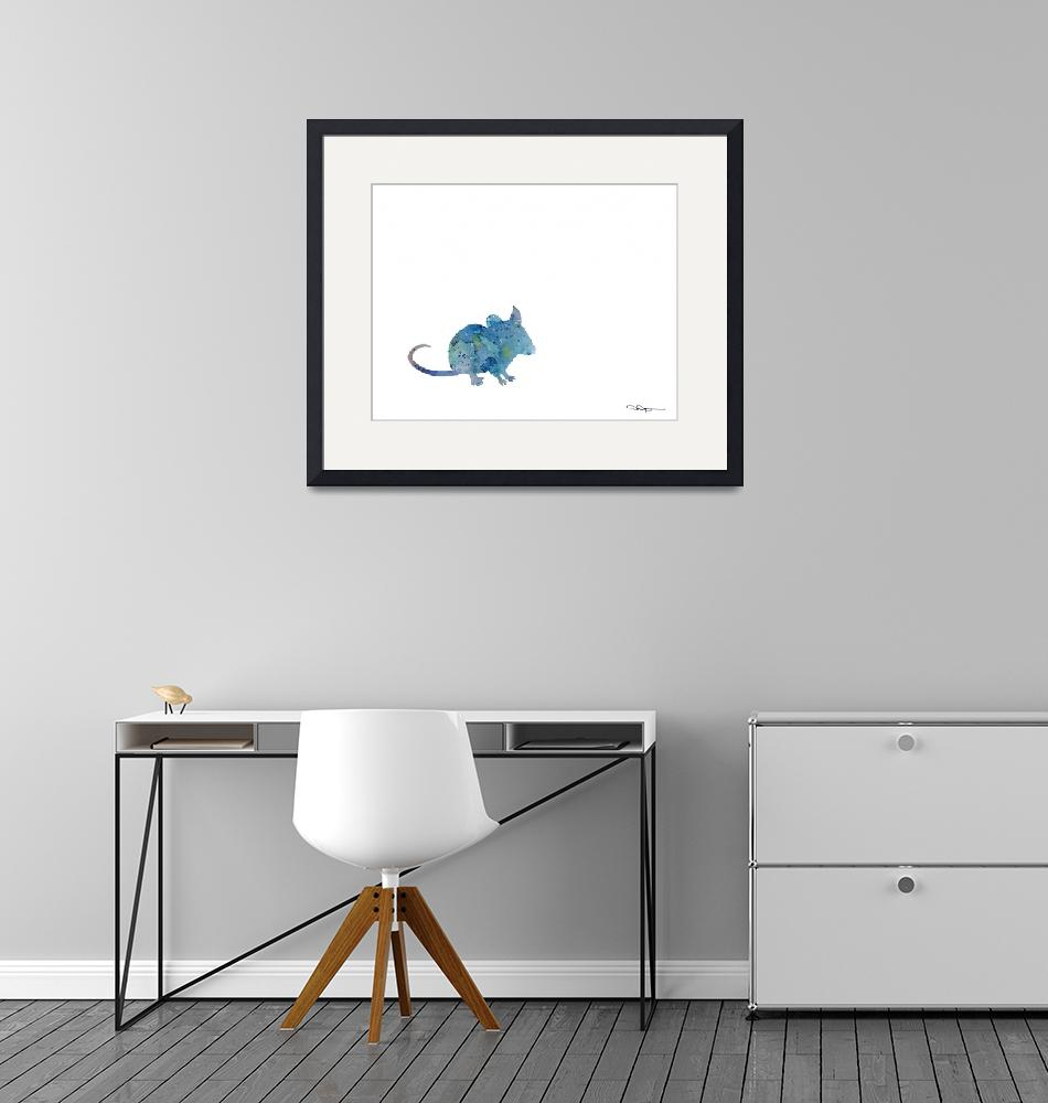"""""""Mouse""""  (2015) by k9artgallery"""