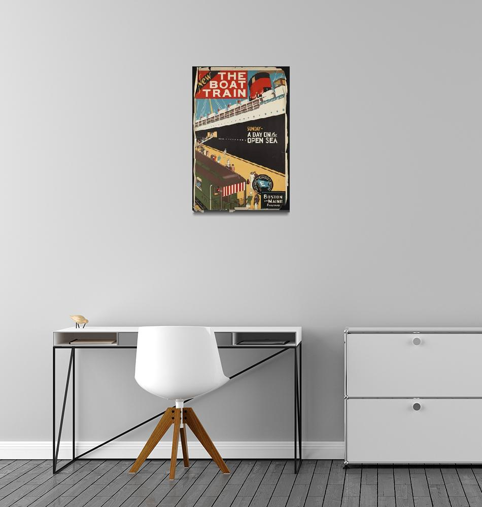 """""""Vintage Retro Ad Promotion Advertisement Poster""""  by palaciodebellasartes"""