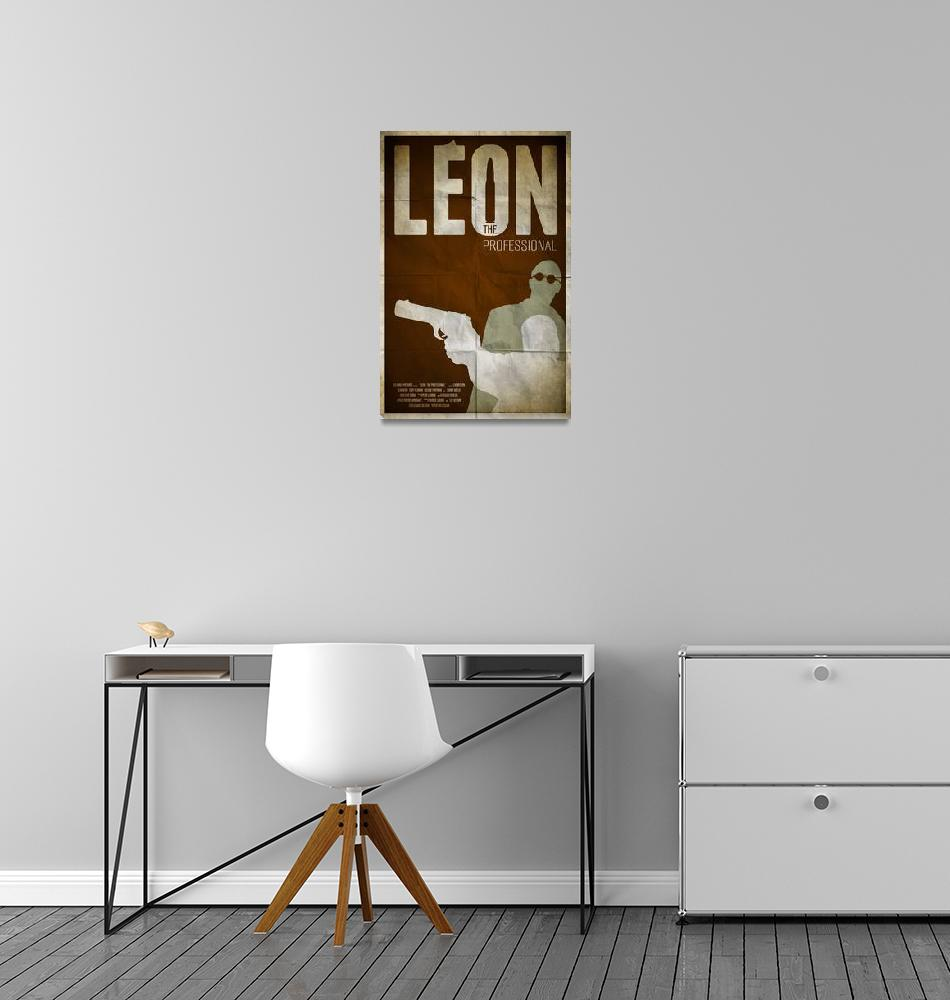 """Leon: The Professional""  (2013) by RyanBlackDesigns"
