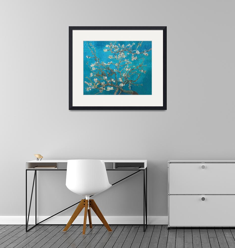 """""""Vincent Van Gogh Blossoming Almond Tree""""  by artpictures"""