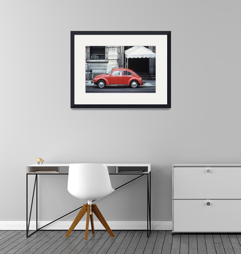 """""""Red Beetle""""  (1978) by RussMartinPhotography"""