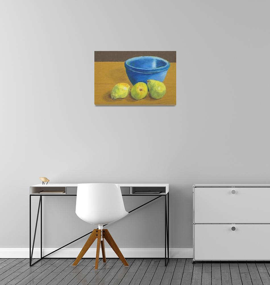 """""""Pears and Bowl""""  (2008) by RedPine"""