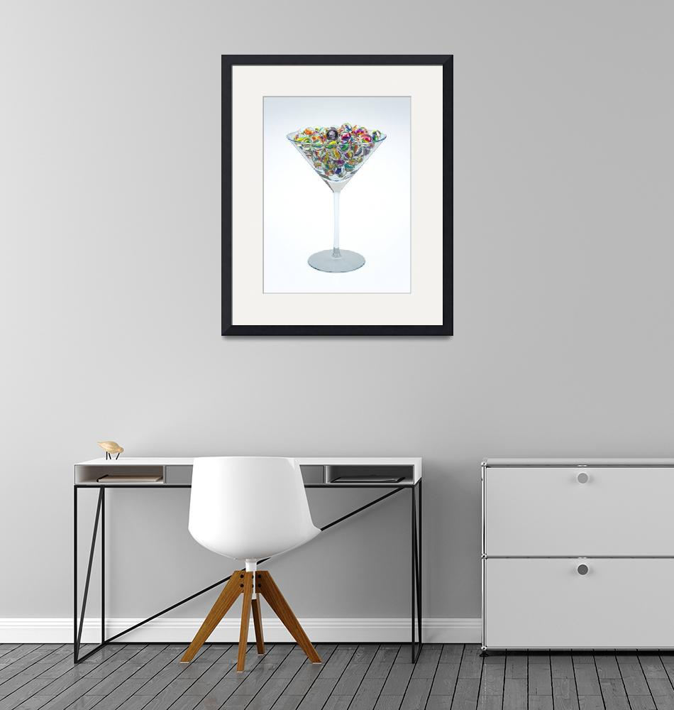 """Marble Martini""  (2018) by JSConnelly"