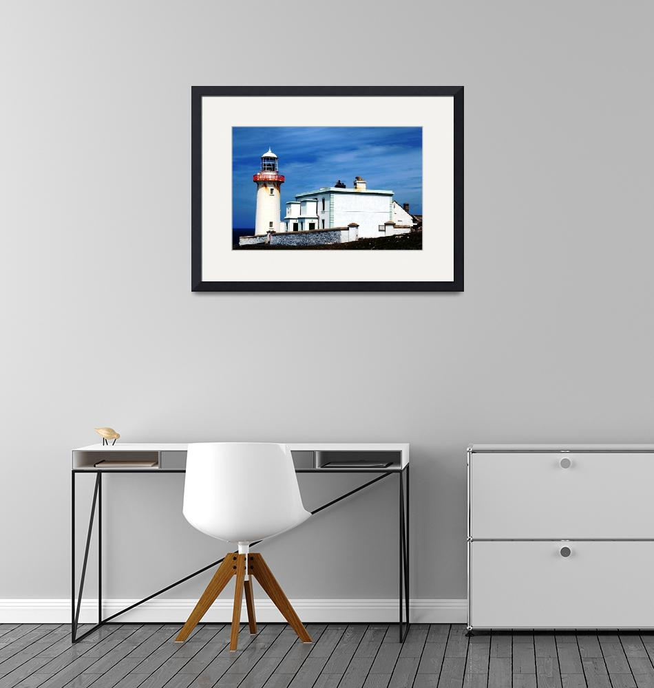 """Arranmore Lighthouse""  (2011) by stephenmaxwell"
