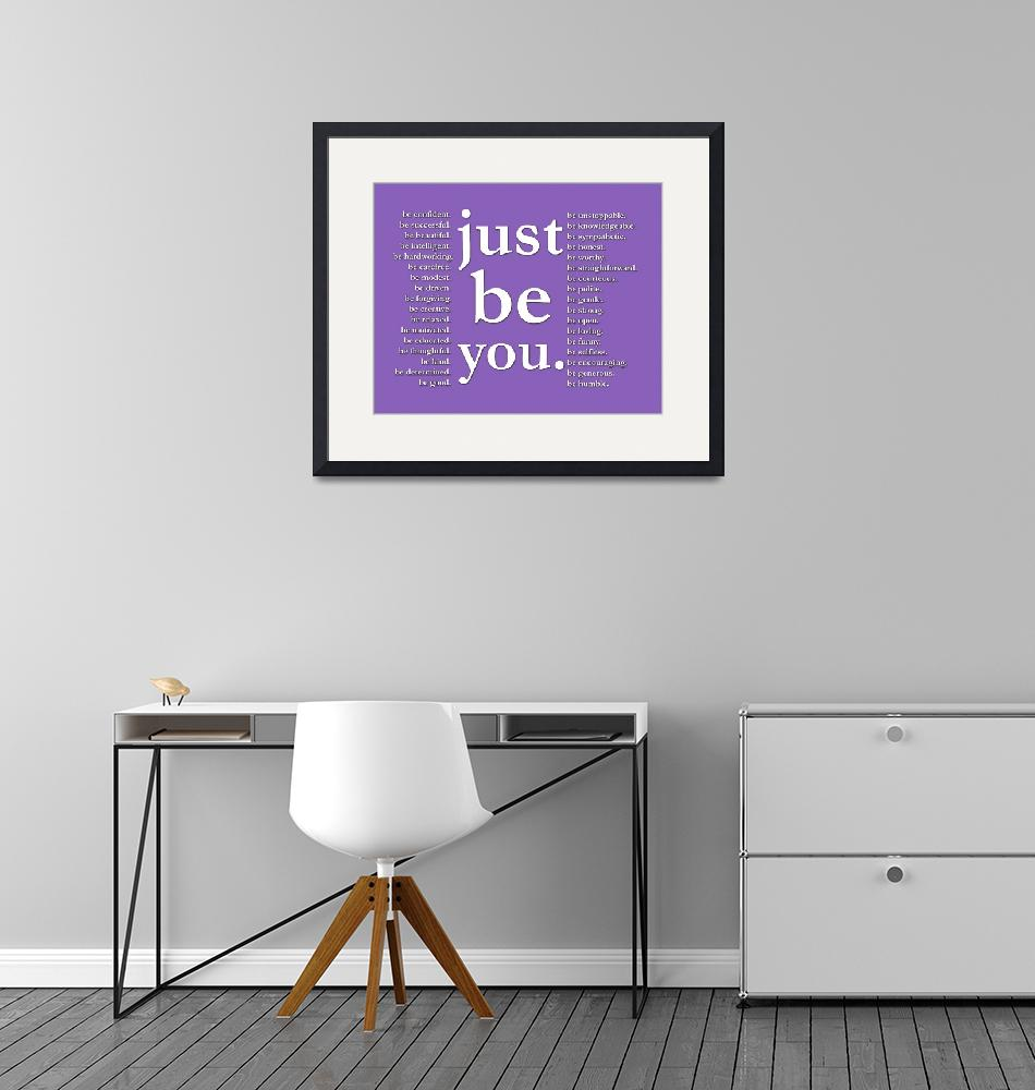 """""""just be you (indigo)""""  (2011) by Happinessinyourlife"""